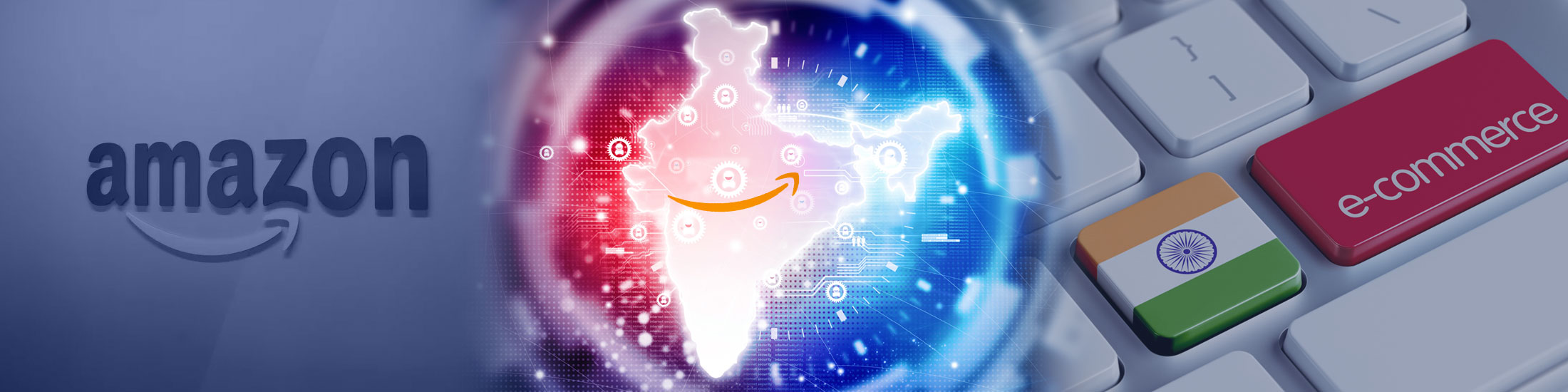 Amazon Enters Partnership with Indian Retailer to Sell Online